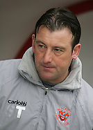 Blackpool - Saturday March 7th, 2009: Steve Thompson, first team coach of Blackpool prior to the game against Norwich City in the Coca Cola Championship match at Bloomfield Road, Blackpool. (Pic by Michael Sedgwick/Focus Images)