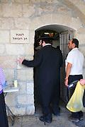 Israel, Jerusalem, Old City Wailing Wall The Rabbi of the Wailing Wall