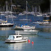 Waikawa Bay near Picton.  Waikawa is the home of New Zealand's 3rd largest Marina only minutes away from  Queen Charlotte Sounds near Picton at the top of the South Island of New Zealand,  28th January 2011. Photo Tim Clayton