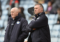 Leicester City Manager, Nigel Pearson - Photo mandatory by-line: Alex James/JMP - Mobile: 07966 386802 - 15/02/2015 - SPORT - Football - Birmingham - Villa Park - Aston Villa v Leicester City - FA Cup - Fifth Round