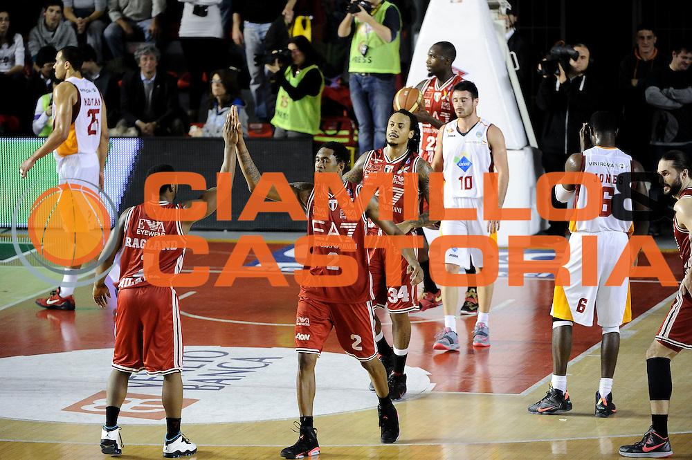 DESCRIZIONE : Roma Lega A 2014-15 <br /> Acea Roma EA7 Milano<br /> GIOCATORE : Ragland Joe Brooks MarShon<br /> CATEGORIA : Esultanza<br /> SQUADRA : EA7 Milano<br /> EVENTO : Lega A 2014-15 <br /> GARA : Acea Roma EA7 Milano<br /> DATA : 21/12/2014<br /> SPORT : Pallacanestro<br /> AUTORE : Agenzia Ciamillo-Castoria/giuliociamillo<br /> Galleria : Lega Basket A 2014-2015<br /> Fotonotizia : <br /> Predefinita :