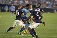 NYC FC vs New England Revolution - 20 Aug 2017