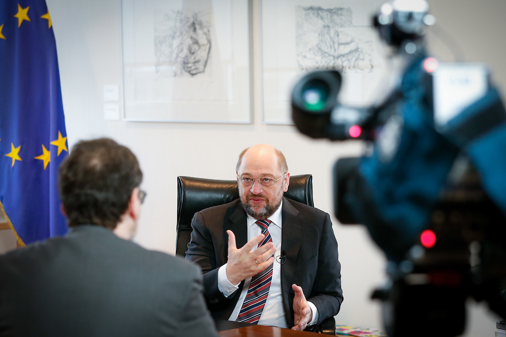 Interview of Martin SCHULZ, EP President