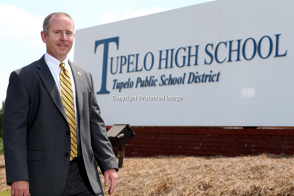 New Tupelo High School Principal Art Dobbs