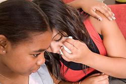 Portrait of  teenage girls,