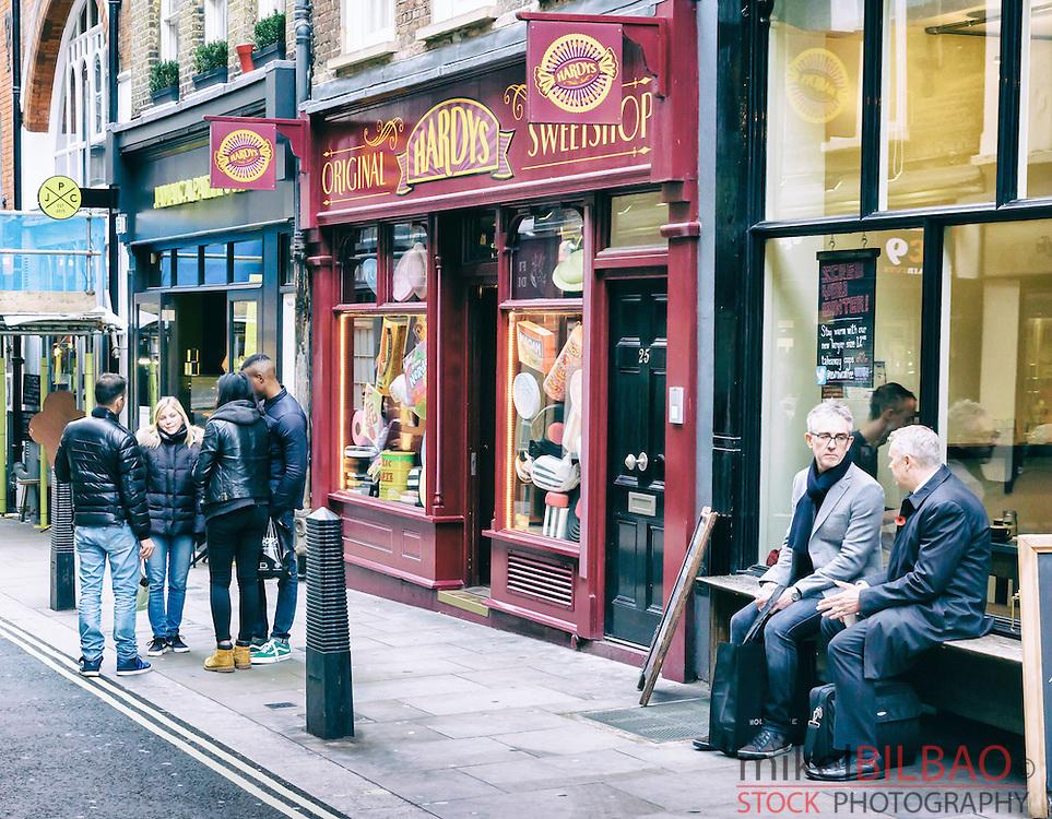Street view. London, England, United kingdom, Europe.