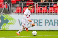 Alexandre ALPHONSE  - 20.12.2014 - Brest / Ajaccio - 18eme journee de Ligue 2 <br /> Photo : Vincent Michel / Icon Sport