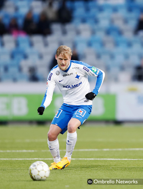 NORRKÖPING, SWEDEN - MAY 16: Kalle Holmberg of IFK Norrköping during the Allsvenskan match between IFK Norrköping and Kalmar FF at Östgötaporten on May 16, 2017 in Norrköping, Sweden. Foto: Nils Petter Nilsson/Ombrello