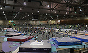 Jan 18, 2019; Reno, NV, USA; General overall view of the UCS Spirit National Pole Vault Summit at the Reno-Sparks  Livestock Events Center.