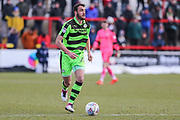 Forest Green Rovers Farrend Rawson(20) during the EFL Sky Bet League 2 match between Accrington Stanley and Forest Green Rovers at the Wham Stadium, Accrington, England on 17 March 2018. Picture by Shane Healey.