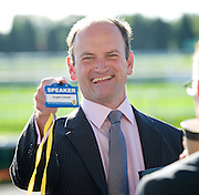 UKIP Annual Party Conference <br /> 26th September 2014 <br /> at Doncaster Racecourse, Great Britain <br /> <br /> <br /> <br /> Douglas Carswell <br /> PPC Clacton <br /> <br /> <br /> <br /> Photograph by Elliott Franks <br /> Image licensed to Elliott Franks Photography Services