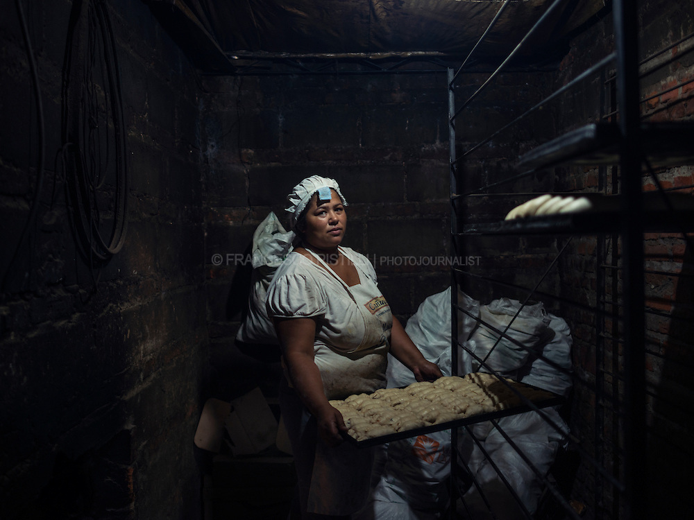 V. (41) works in a small rural bakery near Tacuarembo. She is proud of her daughter who works for an International Company: &quot;Luckly, my daughter will be able to travel around the world, discovering places and beauty, far from this rural reality!&quot; V. says. <br />