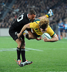 Auckland-Rugby, New Zealand v Australia, August 23