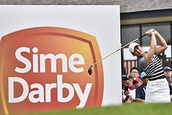 October 27, 2017 - Kuala Lumpur, Malaysia - Su Oh of Australia during day two of the Sime Darby LPGA Malaysia at TPC Kuala Lumpur on October 27, 2017 in Kuala Lumpur, Malaysia. (Credit Image: © Chris Jung/NurPhoto via ZUMA Press)