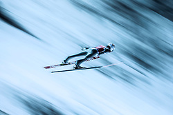 Marinus Kraus of Germany in action during the qualifying round of the HS134 FIS Ski Jumping World Cup in Nizhny Tagil, Russia, 12 December 2014.