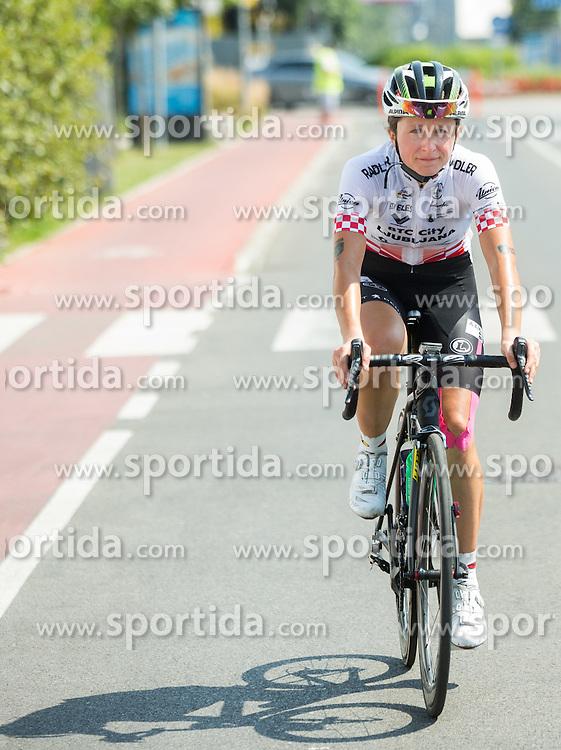 Mia Radotic (CRO) of BTC City Ljubljana Team after the Stage 1 (102,5 km) from Kamnik to Ljubljana at 26th Giro Rosa 2015 Women cycling race, on July 4, 2015 in BTC City, Ljubljana,  Slovenia. Photo by Vid Ponikvar / Sportida
