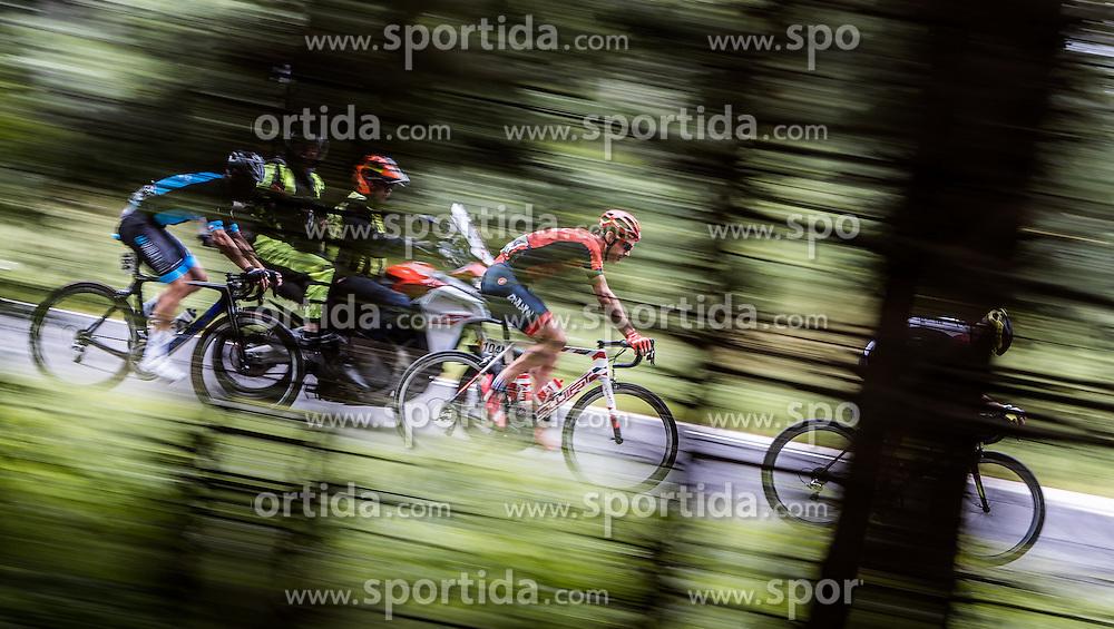 04.07.2016, Steyr, AUT, Ö-Tour, Österreich Radrundfahrt, 2. Etappe, Mondsee nach Steyr, im Bild William Clarke (AUS, Drapac Professional Cycling) // William Clarke (AUS Drapac Professional Cycling) during the Tour of Austria, 2nd Stage from Mondsee to Steyr, Austria on 2016/07/04. EXPA Pictures © 2016, PhotoCredit: EXPA/ JFK