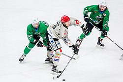 UrbanSodja of HDD Jesenice during Ice Hockey match between HK SZ Olimpija Ljubljana and HDD Jesenice in Round #24 of Alps Hockey League, on December 22, 2018 in Hala Tivoli, Ljubljana, Slovenia. Photo by Ziga Zupan / Sportida