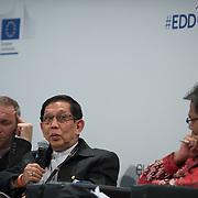 03 June 2015 - Belgium - Brussels - European Development Days - EDD - Inclusion - Social enterprise - Stemming the tide on income inequality - Aung Tun Thet , President's Economic Advisor , Myanmar and Senior Advisor , United Nations (UN) © European Union