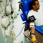 QUIMBIOTEC C.A.<br /> San Antonio de los Altos, Estado Miranda - Venezuela 2007<br /> QUIMBIOTEC es una empresa sin fines de lucro del Estado venezolano creada en diciembre del año 1988. Pertenece al Instituto Venezolano de Investigaciones Científicas (IVIC) y está adscrita al Ministerio de Ciencia y Tecnología (MCT).<br /> Su Objetivo es la elaboración y comercialización de derivados sanguíneos y otros productos químicos y biológicos de alta calidad y tecnología de punta en la Planta Productora de Derivados Sanguíneos (PPDS).<br /> Photography by Aaron Sosa