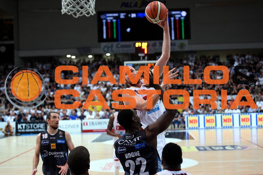 Hrvoje Peric<br /> Dolomiti Energia Aquila Basket Trento - Umana Reyer Venezia<br /> Lega Basket Serie A 2016/2017<br /> Playoff, finale gara 4<br /> Trento, 16/06/2017<br /> Foto M.Ceretti / Ciamillo-Castoria