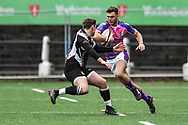 Pontypridd's Lewis Williams in action during todays match - Mandatory by-line: Craig Thomas/Replay images - 30/12/2017 - RUGBY - Sardis Road - Pontypridd, Wales - Pontypridd v Bedwas - Principality Premiership