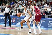 DESCRIZIONE : Riga Latvia Lettonia Eurobasket Women 2009 Semifinal 5th-8th Place Italia Lettonia Italy Latvia<br /> GIOCATORE : Manuela Zanon<br /> SQUADRA : Italia Italy<br /> EVENTO : Eurobasket Women 2009 Campionati Europei Donne 2009 <br /> GARA : Italia Lettonia Italy Latvia<br /> DATA : 19/06/2009 <br /> CATEGORIA : palleggio<br /> SPORT : Pallacanestro <br /> AUTORE : Agenzia Ciamillo-Castoria/E.Castoria