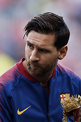 September 18, 2018 - Barcelona, Barcelona, Spain - Leo Messi of FC Barcelona looks on prior to the UEFA Champions League group B match between FC Barcelona and PSV Eindhoven at Camp Nou on September 18, 2018 in Barcelona, Spain  (Credit Image: © David Aliaga/NurPhoto/ZUMA Press)