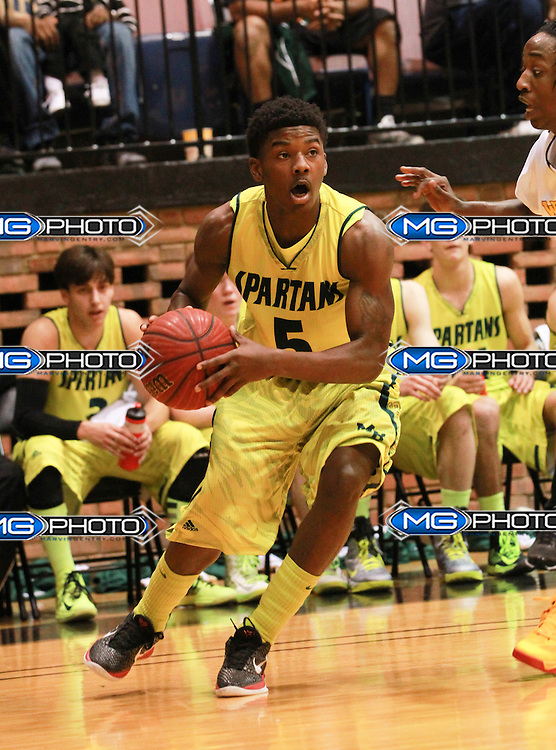 January 28,2013 Mountain Brook High School vs Wenonah High School Boys basketball at Bill Battle Coliseum. Mandatory credit; Marvin Gentry