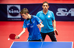 PARENZAN Matteo (ITA) and SIMION Bobi (ROU) during Team events at Day 4 of 16th Slovenia Open - Thermana Lasko 2019 Table Tennis for the Disabled, on May 11, 2019, in Dvorana Tri Lilije, Lasko, Slovenia. Photo by Vid Ponikvar / Sportida