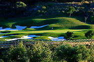 15th green/Finca Cortesin Golf Club, Casares, Malaga. Designed by Cabell Robinson.Picture Credit / Phil Inglis
