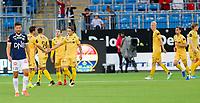 Fotball , 5. august 2019 , Eliteserien<br /> Strømsgodset - Bodø Glimt<br /> Amor Layouni, Bodø/Glimt<br /> 1-3 mål Bodø/Glimt<br /> Foto: Christoffer Hansen , Digitalsport