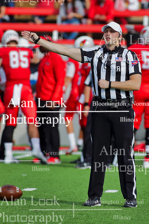 NORMAL, IL - October 06: Matt Packowski during a college football game between the ISU (Illinois State University) Redbirds and the Western Illinois Leathernecks on October 06 2018 at Hancock Stadium in Normal, IL. (Photo by Alan Look)