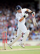 © SPORTZPICS / Seconds Left Images 2009  - Ian Bell takes evasive action as he struggles to get out of the way of a Mitchell Johnson bouncer  England v Australia - The Ashes 2009 - 5th npower Test  Match - Day 1 - 20/08/09 - The Brit Oval - London -  UK - All Rights Reserved