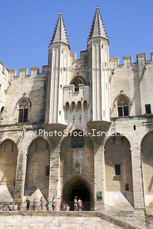 Palais des Papes, Papal palace Avignon, France