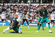 Derby County defender Jayden Bogle (37) is fouled, penalty to Derby during the EFL Sky Bet Championship match between Derby County and Swansea City at the Pride Park, Derby, England on 10 August 2019.