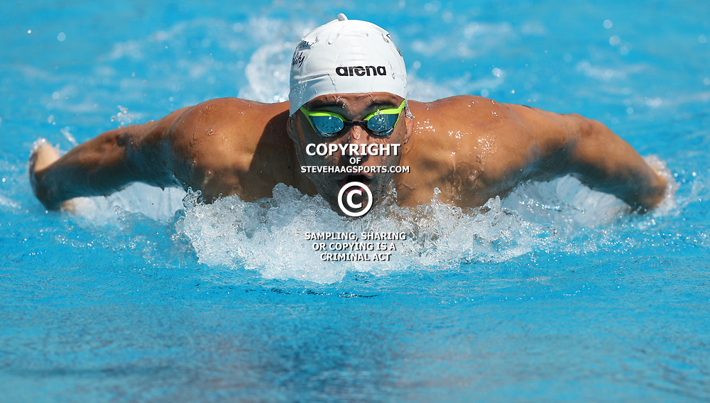 DURBAN, SOUTH AFRICA - FEBRUARY 04: General views of Chad Le Clos during day 1 of The 2017 Grand Prix No.4 Invitational swimming meet at Kings Park Swimming Pool on February 04, 2017 in Durban, South Africa. (Photo by Steve Haag/Gallo Images)