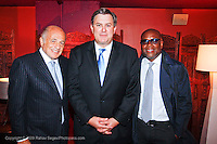 Doug Morris Chairman and CEO of Universal Music Group, Tim Leiweke President and CEO of AEG and L.A. Reid Chairman of Island Def Jam Music Group attend The City of Hope Man of the Year Award at which Tim Leiweke was honored as man of the year at The Nokia Theater Times Square on May 28, 2009.