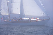 Windigo sailing in the Robert H. Tiedemann Classic Yachting Weekend race 1.