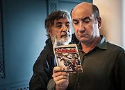Antonio Albanese (dx, right) (actor), Gianni Amelio (sx, left) (Director) - <br />