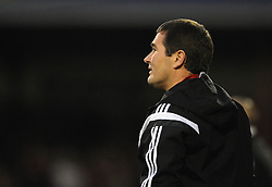 Sheffield United Manager, Nigel Clough - Photo mandatory by-line: Dougie Allward/JMP - Mobile: 07966 386802 - 11/05/2015 - SPORT - Football - Swindon - County Ground - Swindon Town v Sheffield United - Sky Bet League One - Play-Off