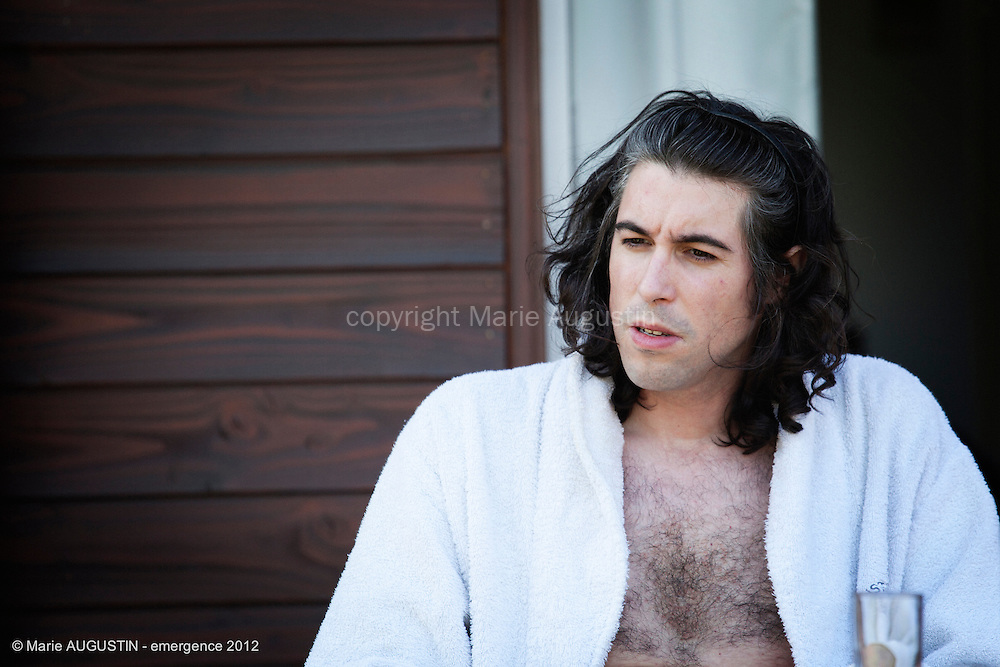 Julien MONNIN, comédien - tournage scène imposée de Sacha WOLFF - emergence 2012