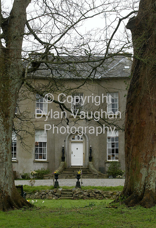 19/3/2002 Sunday Business Post.St John Manor in Enniscorthy Co Wexford..Picture Dylan Vaughan