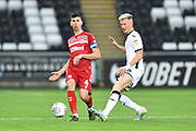 Daniel Ayala (4) of Middlesbrough during the EFL Sky Bet Championship match between Swansea City and Middlesbrough at the Liberty Stadium, Swansea, Wales on 14 December 2019.