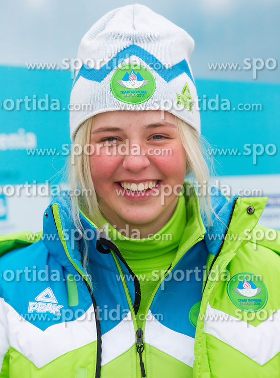 Anamarija Lampic during presentation of Team Slovenia for European Youth Olympic Festival - EYOF Brasov 2013 on February 13, 2013 in Bled, Slovenia. (Photo By Vid Ponikvar / Sportida)