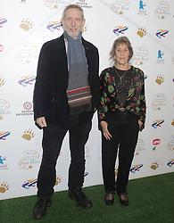 Michael Rosen and illustrator Helen Oxenbury attend a screening of We're Going on a Bear Hunt at the Empire Leicester Square in central London.