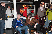 LEEE BLACK CHILDERS; JOHN WINSTON; ; JOHN WINSTON; MADELEINE FARLEY, Drag Queens, Rent Boys, Pick Pockets, Junkies, Rockstars and Punks,, Leee Black Childers ,  book launch and exhibition opening. <br />  The Vinyl Factory Chelsea, Walton St. London. 5 December 2012.