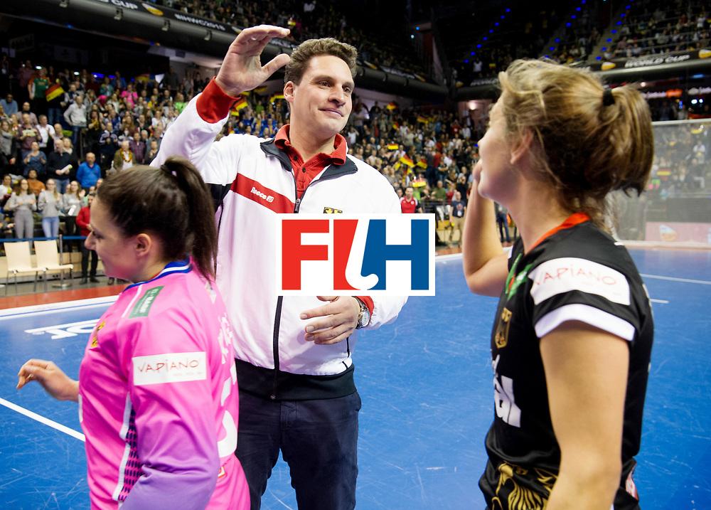BERLIN - Indoor Hockey World Cup<br /> Quarterfinal 3: Germany - Poland<br /> foto: BOUCHOUCHI Akim.<br /> WORLDSPORTPICS COPYRIGHT FRANK UIJLENBROEK