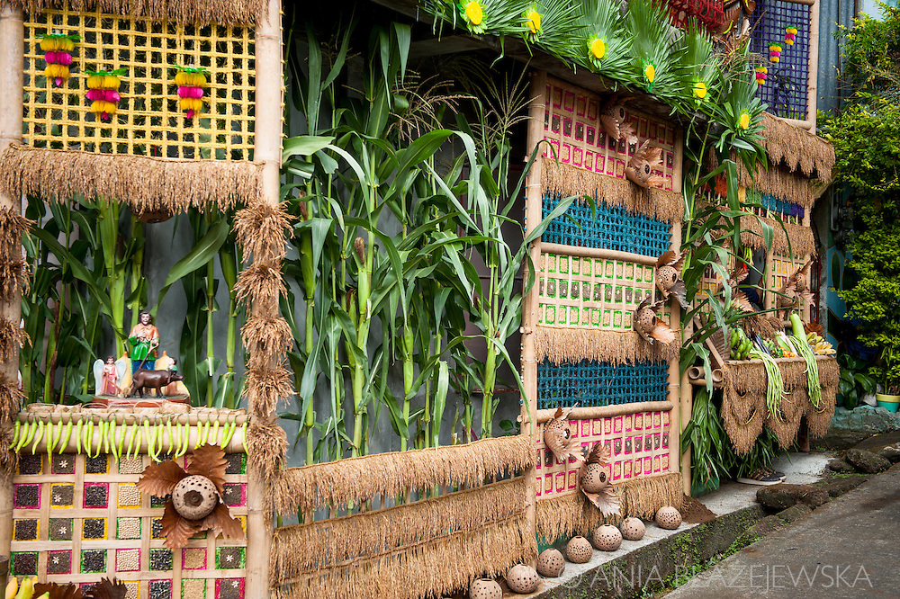 Pahiyas is a colorful festival which takes place every year on 15th May in Lucban, a small town in Quezon Province. Being one of the biggest tourist attractions in the region, it brings thousands of tourists to the town to see houses beautifully decorated with fruits, vegetables and other products.