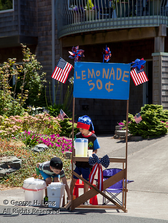 Manzanita, Oregon on the fourth of July, 2015